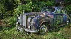 rusty abandoned rolls royce - Bing Images