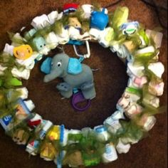 Baby Shower Wreath by TKryn29