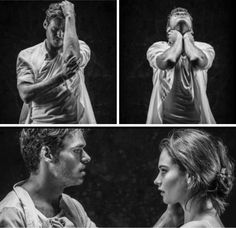 Lily James and Richard Madden | Romeo and Juliet