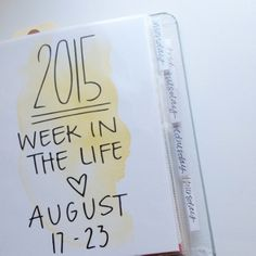 Week in the Life: 2015 — Things You Should Know