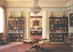 The Library Hall at Clarence House, via @Joni Webb