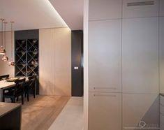 Realizacje - Średnia otwarta kuchnia jednorzędowa z wyspą, styl nowoczesny - zdjęcie od HOSTA MEBLE - homebook