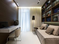 Квартира семьи архитекторов студии A-partmentdesign — HQROOM