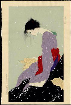 The Love Letter  恋文      Kiyoshi Nakashima 中島 潔
