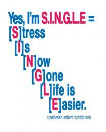 I'm Single & Loving Every Minute of It!