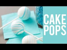Cómo hacer Cake Pops - YouTube