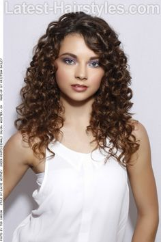 Sombre Hair Color on Curly Hair