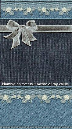 Humble and Value Denim Wallpaper