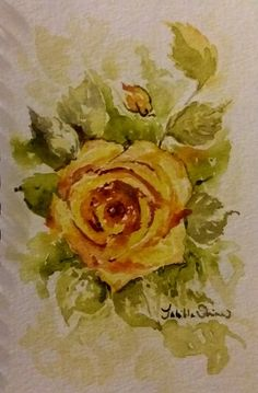 Then install Jagged accessory on the painting. Yellow Roses, Main Colors, Wall Art Decor, Watercolor Paintings, The Originals, Watercolour Paintings, Water Colors, Watercolor Painting, Watercolor Pattern