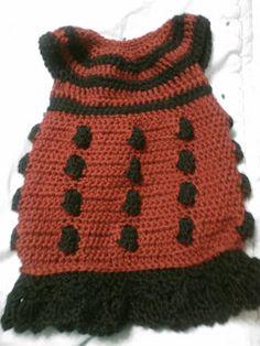 Hookers' Hut: Doctor Who Dalek Dress http://randomramblings-piplette.blogspot.com.br/2013/04/dr-who-dalek-dress.html