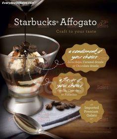 2 Feb 2015 Onward: Starbucks Affogato Gelato Promotion
