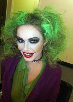Joker makeup