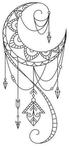 Resultado de imagem para tattoo inspirada em desenhos indianos