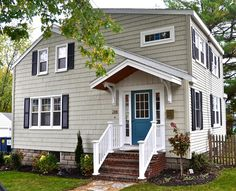 House Exterior colors SoPo Cottage: Curb Appeal - Before and After Diamond in the Rough