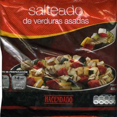 """Salteado de verduras asadas congelado """"Hacendado""""  - Producto"""