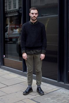 Shoes leather sweater pants fashion men tumblr Style