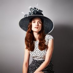 b522b847a27f Joy Hat   A woven occasion hat featuring bow and quill detail at the side