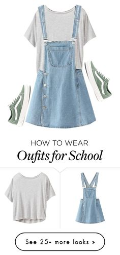 """School Series '17 #5"" by alyroxmaxxx on Polyvore featuring Athleta, WithChic, Vans and BackToSchool"