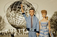 Barbie and Ken at the World's Fair