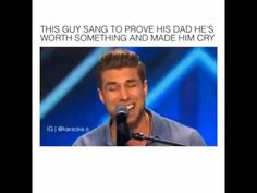 Man sings to prove to his dad that he is not worthless - Gemssblog