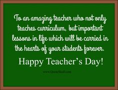 Teachers Day Wishes Cards, Quotes, Messages Teachers Day Message, Teachers Day Wishes, Teachers Day Greetings, Happy Teachers Day, Teachers Corner, Best Teacher Quotes, Teacher Favorite Things, Birthday Wishes For Teacher, Teacher Cards