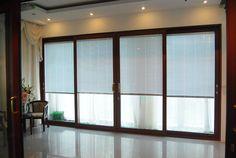 Véranda PVC porte coulissante pour salon