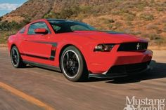 2013 Ford Mustang Boss 302 - Blown Boss: JBA Speed develops a legal Vortech kit for the high-winding Boss 302 and a hot rod is born. Roush Mustang, Mustang Boss 302, Ford Mustangs, Car Makes, Touring, Photo Galleries, Gallery, Thunder, Punch