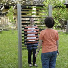 Richter Spielgeräte Stripy Mirror for sensory play Installation Interactive, Interactive Exhibition, Interactive Design, Installation Art, Exhibition Ideas, Exhibition Display, Experiential Marketing, Guerilla Marketing, Exposition Interactive