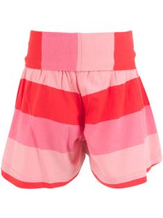 "Shorts ""Ice Cream"" Strawberry - € - Wikimo Kindermode, Kinder Shorts, rot gestreift by Danefae Trunks, Strawberry, Ice Cream, Swimming, Shorts, Swimwear, Fashion, Spring Summer, Trousers"