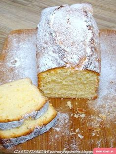 Polish Desserts, Polish Recipes, Cookie Desserts, Dessert Recipes, Cranberry Orange Bread, Pudding Cake, Pound Cake Recipes, Pumpkin Cheesecake, Coffee Cake