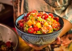 Chilean Fruit Salsa - photo by Phu Son Nguyen
