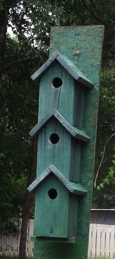 The bird house from Perry County Alabama