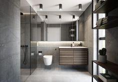 3 tendenser: Sådan skal dit badeværelse se ud i Downstairs Bathroom, Bathroom Inspo, Bathroom Inspiration, Terrazzo, Bathtub, Layout, Rustic, Interior Design, House
