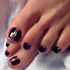 27 Adorable Easy Toe Nail Designs 2020 – Simple Toenail Art Designs : Page 8 of 25 : Creative Vision Design – Nail Art Ideas 2020 Simple Toe Nails, Pretty Toe Nails, Cute Toe Nails, Summer Toe Nails, Gorgeous Nails, My Nails, Cute Toes, Toe Nail Color, Toe Nail Art