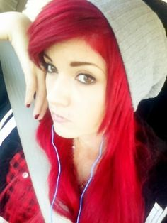 The Lovely Leda Muir and red hair