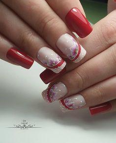 3 ou ⠀ ⠀ Par ⠀ ● ○ ● ○ ● # beaux ongles # ongles design # faits saillants parfaits # manucure parfaite # monogrammes # ongles monogram … Source by The post 3 ou ♥ ♥ ♥ ♥ ⠀ ⠀ Par ● ○ ● ○ … Gel Nail Art, Nail Manicure, Acrylic Nails, Nail Polish, Cute Nails, Pretty Nails, Hair And Nails, My Nails, Ongles Forts