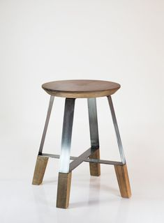 Dennys Tormen #design #stool #Wood #metal