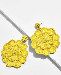 Light Blue Rough Crystal Earrings, Raw Geode Gold Post Studs, Blue and Yellow Gold Jewelry, Crystal Wedding Anniversary Gifts for Wife - Fine Jewelry Ideas Big Earrings, Flower Earrings, Tassel Earrings, Crystal Earrings, Crochet Earrings, Drop Earrings, Embroidery Jewelry, Beaded Embroidery, Anniversary Gifts For Wife