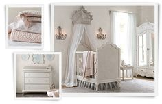 How about make bumper pads out of an old quilt Rooms | Restoration Hardware Baby & Child