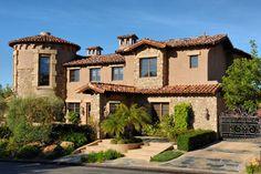 3. Rancho Retreat - mediterranean - exterior - san diego - Elevation Architectural Studios