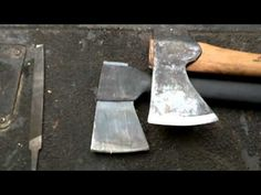 How to sharpen axes, hatchets, and tomahawks #Bushcraft