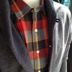 Button ups and sweaters are the BEST fall look! In the shop now!