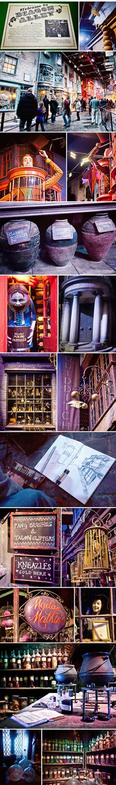 Harry Potter Studio Tour… if I don't go here before I die I will consider my life incomplete