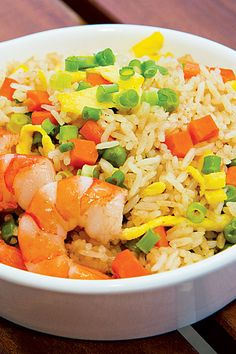 Canton Shrimp Fried Rice #FilipinoFood Recipe. Join the McCormick #OnlineCookOff for a chance to win $2000! https://www.facebook.com/mccormickonlinecookoff