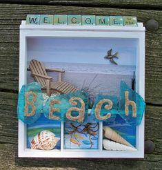 Vacation Shadow box