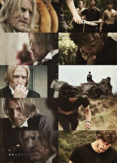 Haymitch Abernathy-they couldn't have castes a better actor for older haymitch