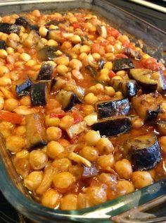 Vegan Vegetarian, Vegetarian Recipes, Greek Recipes, Fajitas, Chana Masala, Food To Make, Easy Meals, Yummy Food, Vegetables