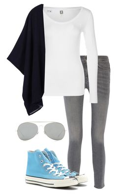 """""""Chillin'"""" by izzy9282003 ❤ liked on Polyvore featuring MiH Jeans, G-Star, Tory Burch, Converse and Acne Studios"""