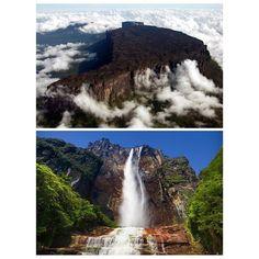 #venezuela #guianahighlands #view #photos #landscape #sky #beautiful #style#amazing #perfect#love#falls #Nature
