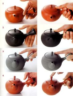 How do you hold your Kyusu?